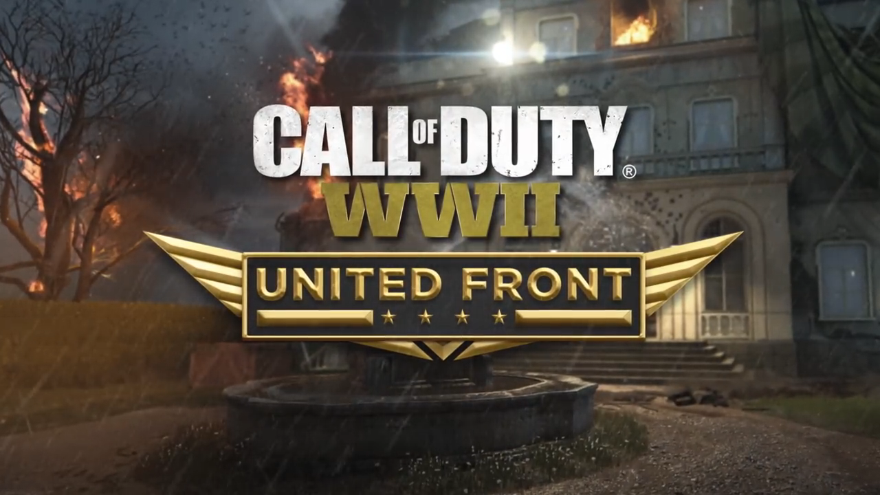 Call of Duty WWII United Front logo