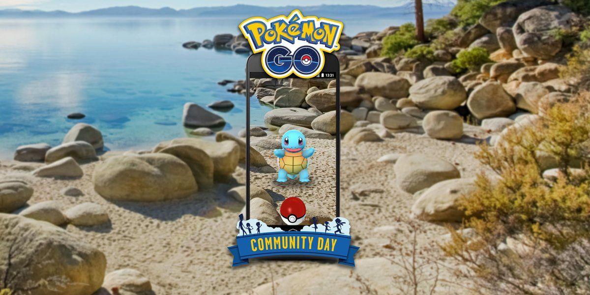 pokemon go squirtle community day