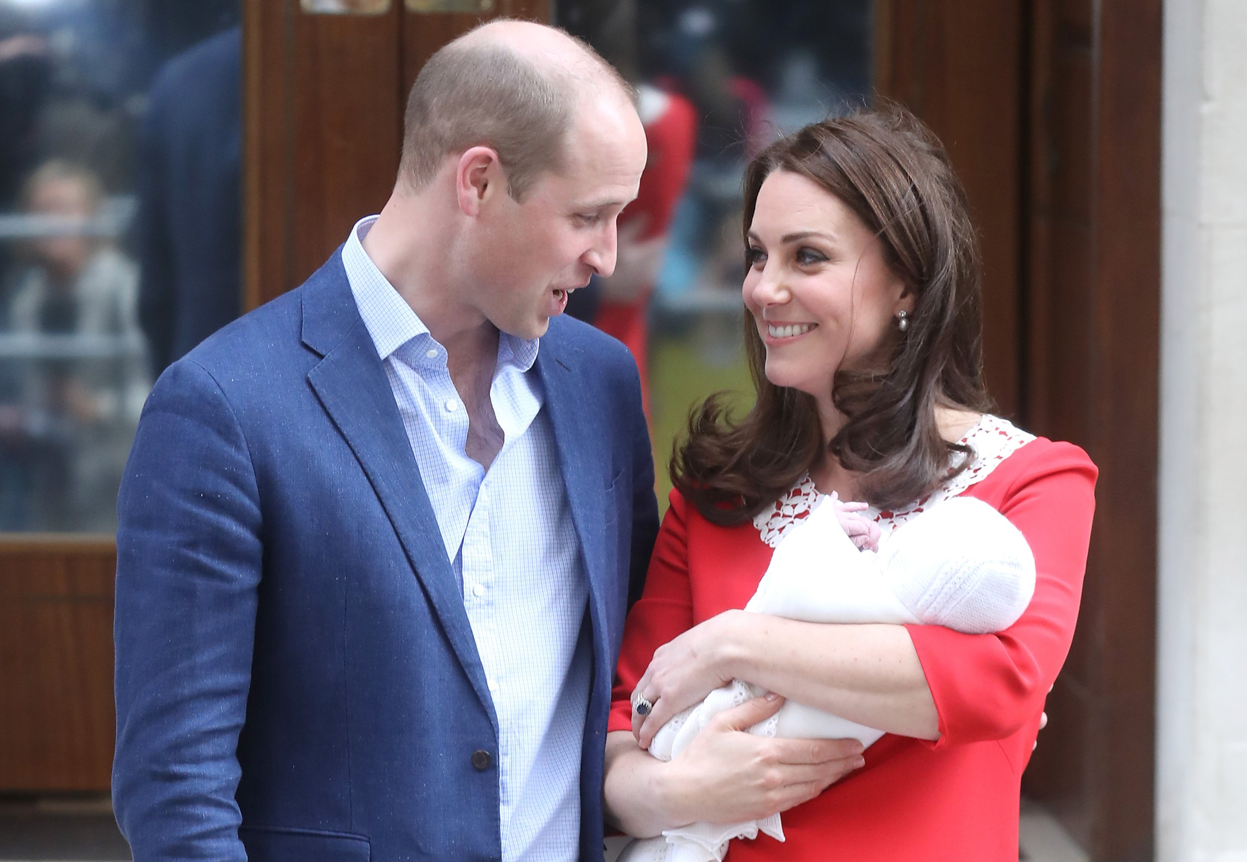William, Kate, Louis