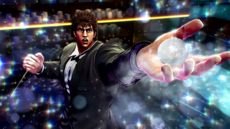 fist of the north star minigame