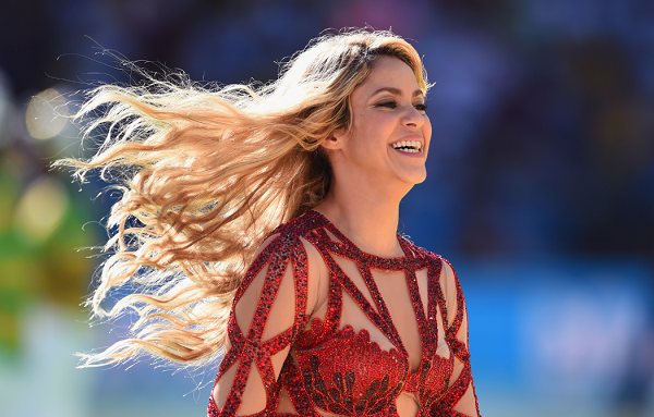 Shakira World Tour Necklace Resembling a Nazi Symbol Sparks Backlash