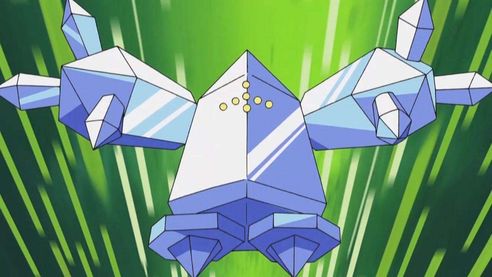Brandon_Regice pokemon anime