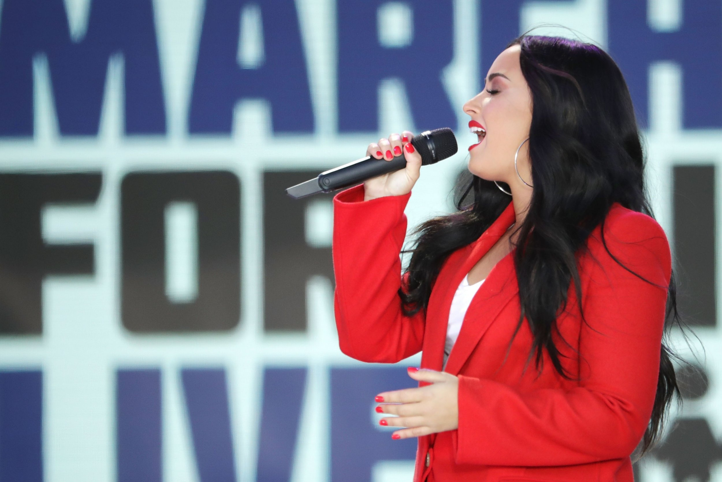Fans show support as Demi Lovato video shows life before sobriety and darkness of relapse