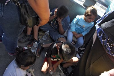 Children us-mexico border