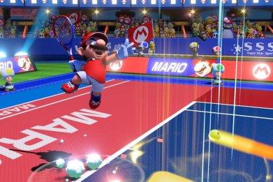 mario tennis aces jumping shot