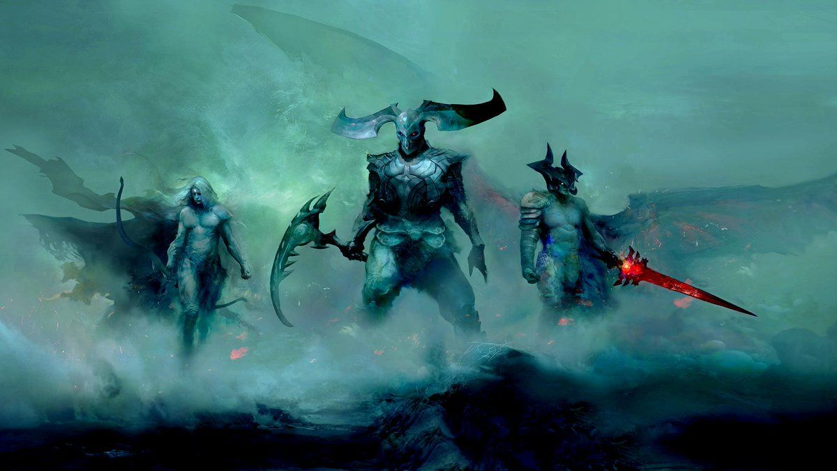 league of legends darkin lore explained who are the monsters