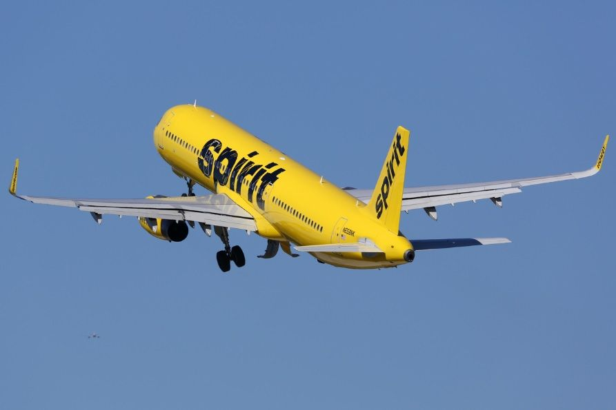 Spirit airlines iStock