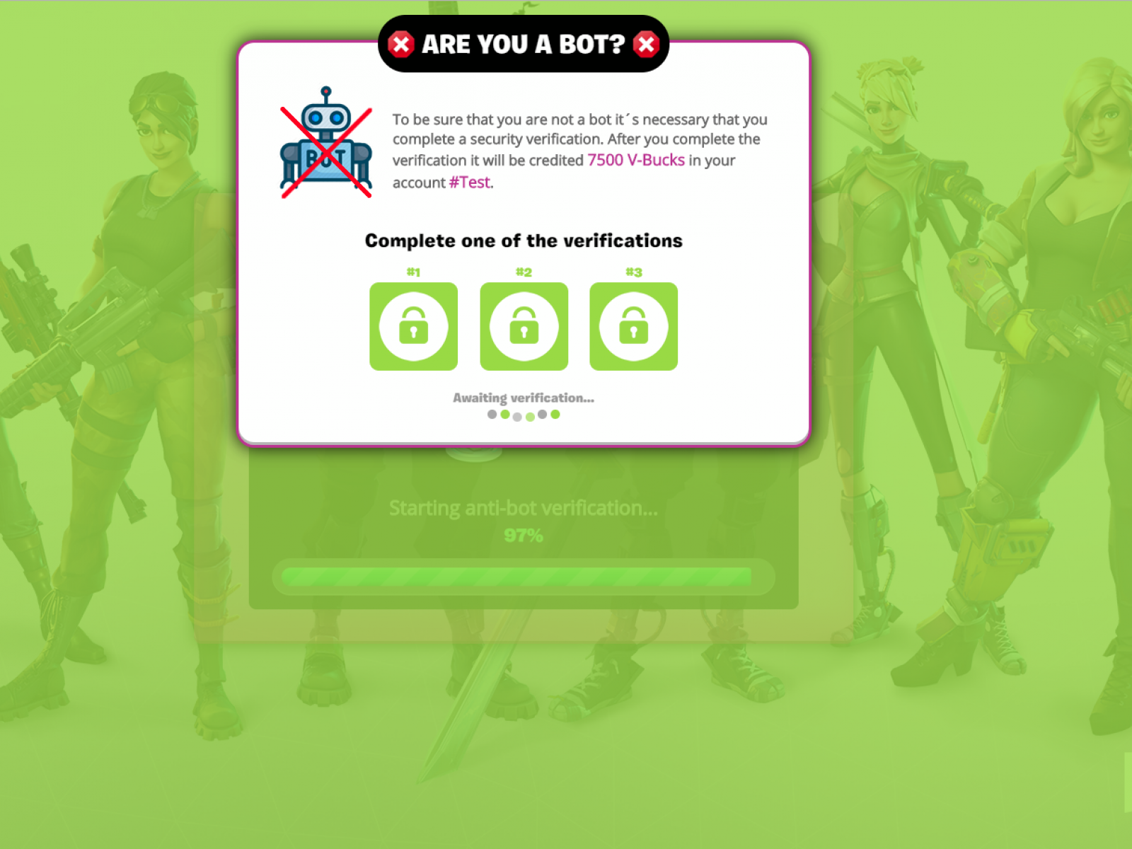 Freevbucks Co fortnite' free v-bucks scam: how to spot fake websites