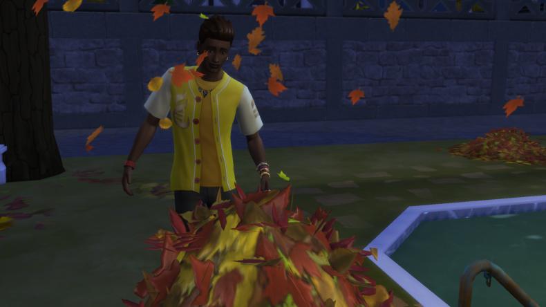 sims 4 seasons leaves
