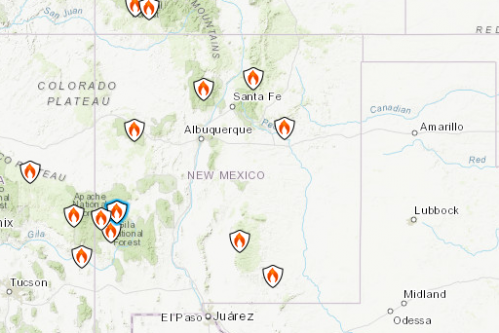 Wildfires 2018 Map: Where Pawnee, 416 and Other Largest