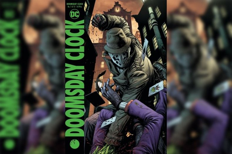 Doomsday Clock #7 variant cover