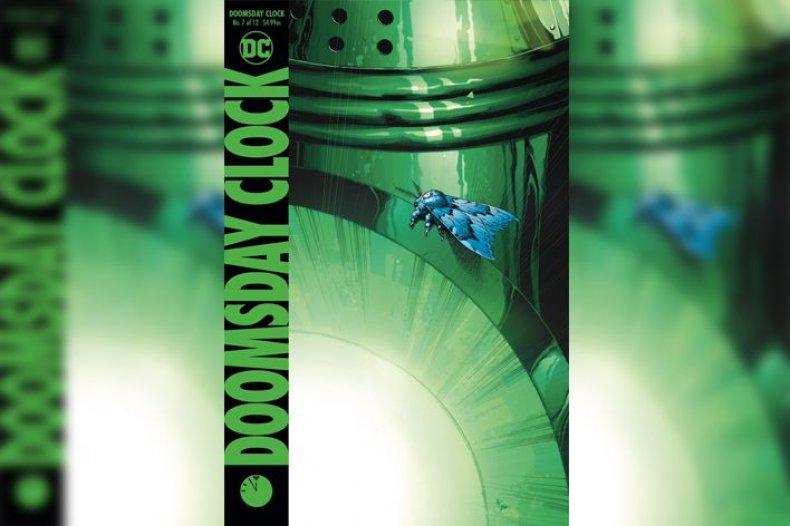 Doomsday Clock #7 cover