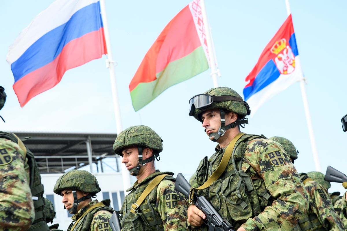 Russia Launches War Games with Two Top Allies as U.S. and