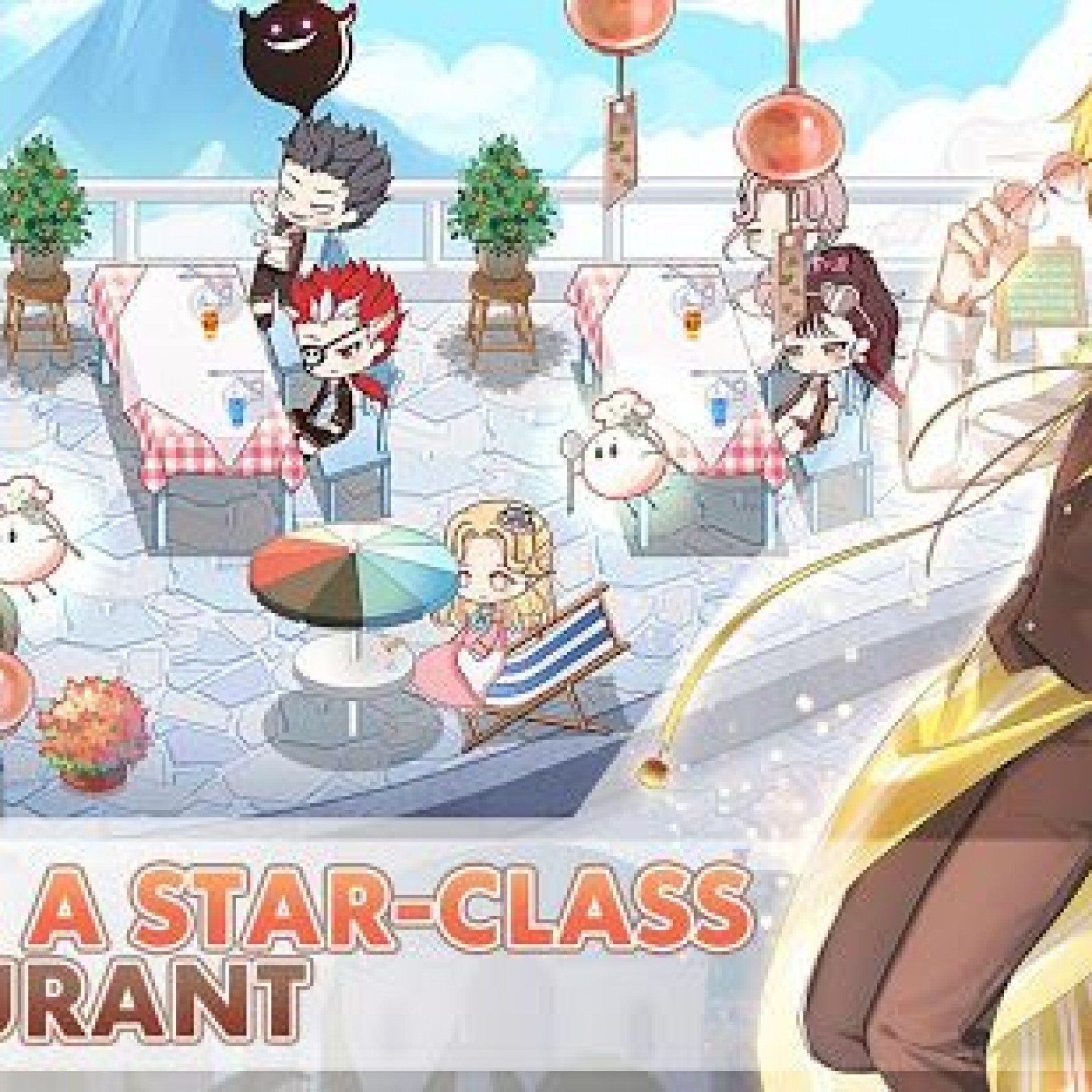 Food Fantasy' is a Bizarre New JRPG Coming to Mobile Next Month