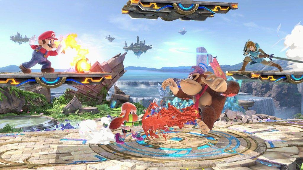 super smash bros ultimate e3 screen