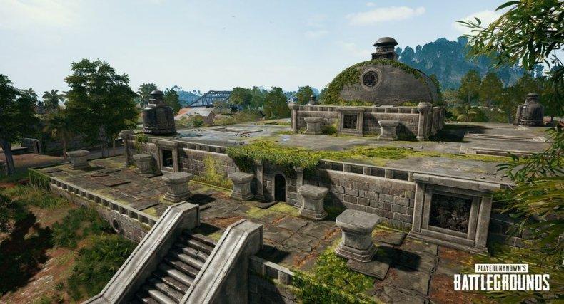 PUBG Sanhok ruins update