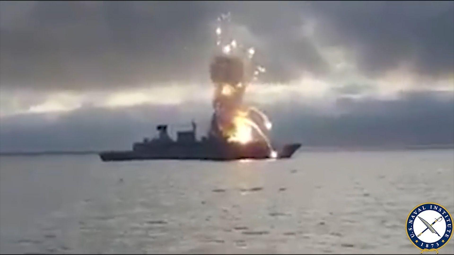 German Ship Explosion
